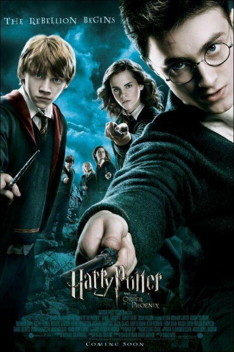 Poster de la película 'Harry Potter'