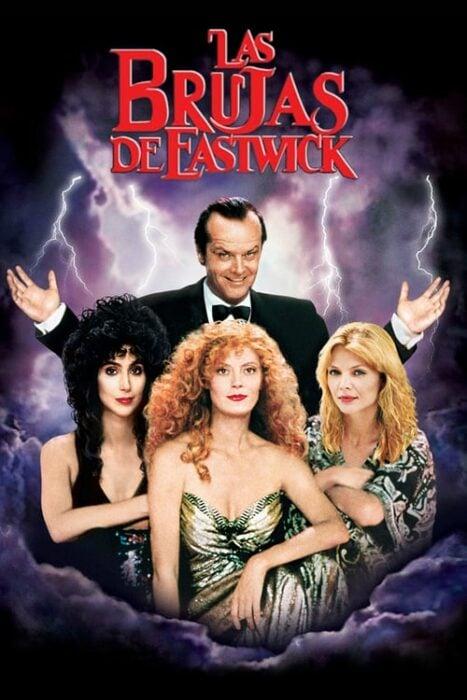 Poster de la película 'Las brujas de Eastwick'