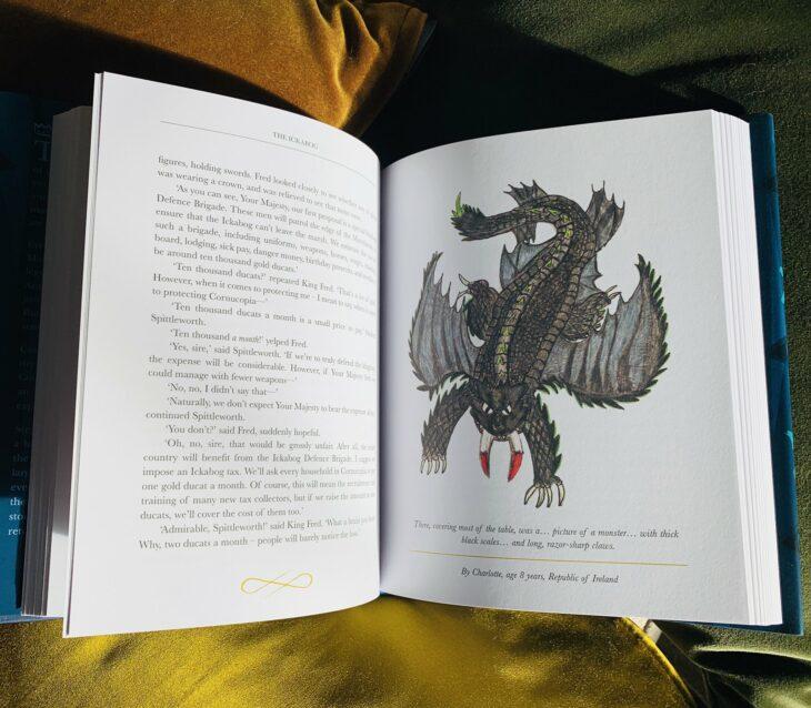 Fotografía del nuevo libro de J.K. Rowling de 'El Ickabog'