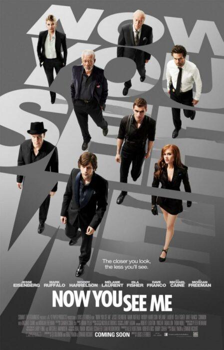 Poster de la película 'Los ilusionistas: Nada es lo que parece'