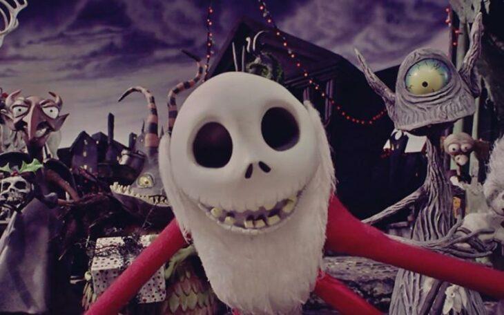 Escena de la película El extraño mundo de Jack; Películas perfectas para quienes odian la Navidad