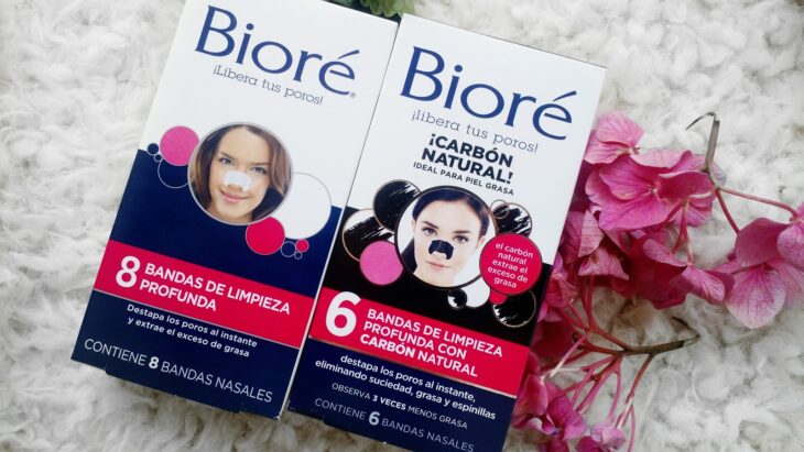 Bioré blackhead remover bands; pharmacy products for beautiful skin