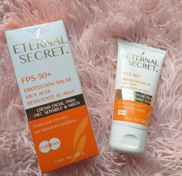 Eternal Secret sunscreen; pharmacy products for beautiful skin