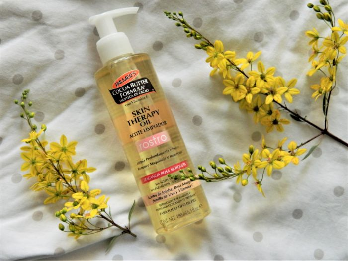 Palmer's Cleaning Oil; pharmacy products for beautiful skin