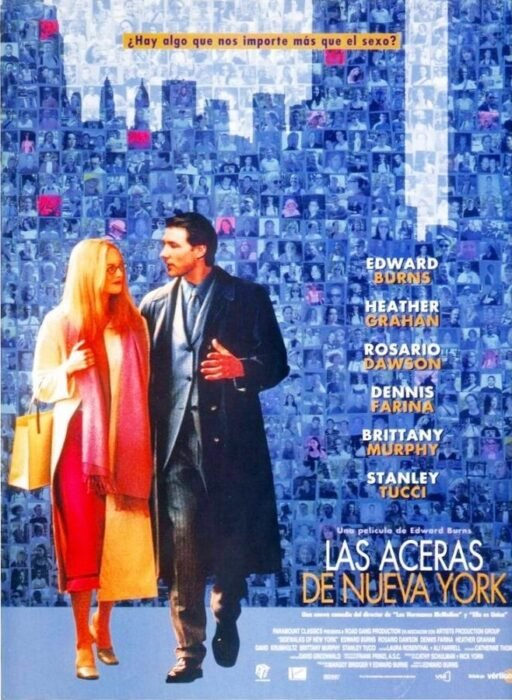 Poster de la película 'Sidewalks of New York'