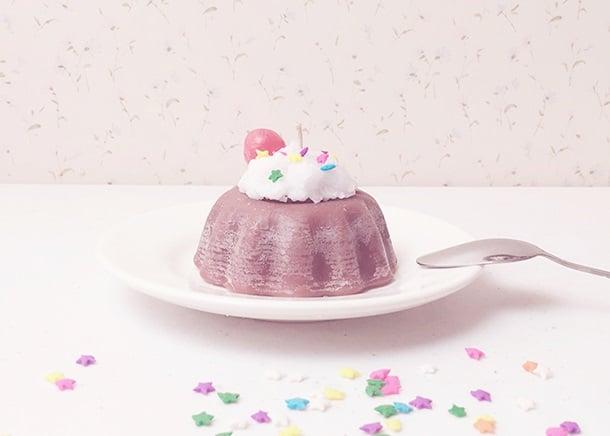 Vela en forma de panquecito de chocolate; Tutoriales para hacer tus propias velas aromáticas