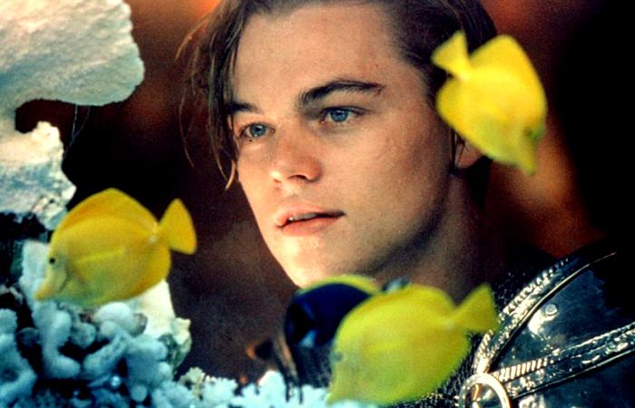 escena de Romeo + Juliet