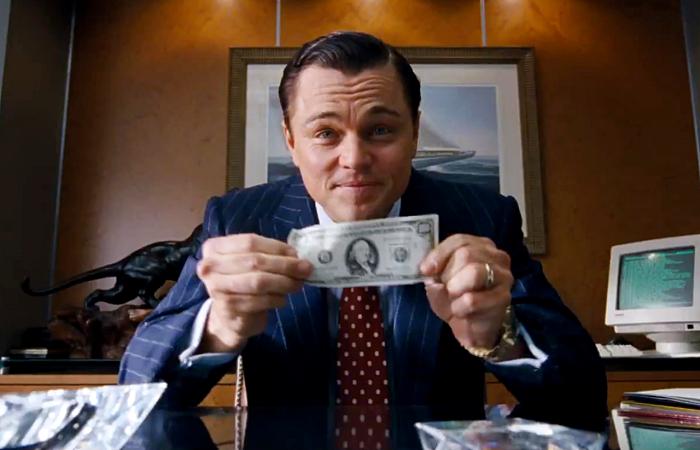 escena de The Wolf Of Wall Street