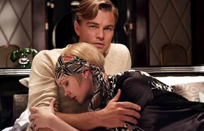escena de The Great Gatsby