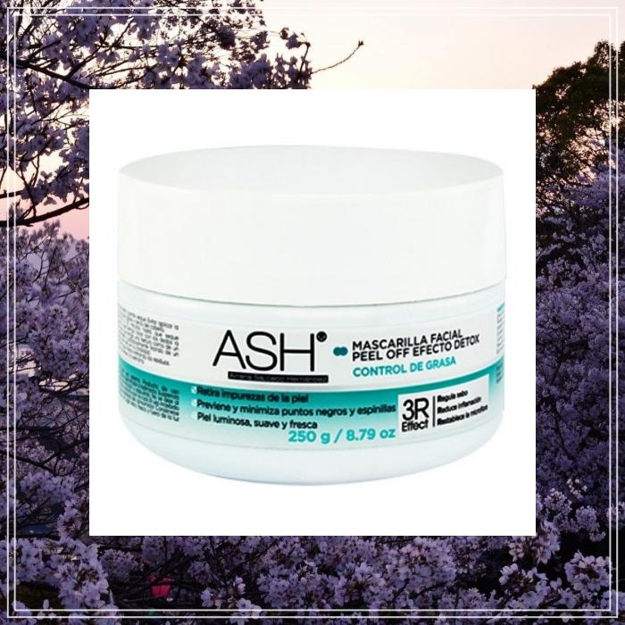 ASH Mascarilla facial Peel Off 250 g ASH Natural Efect Detox