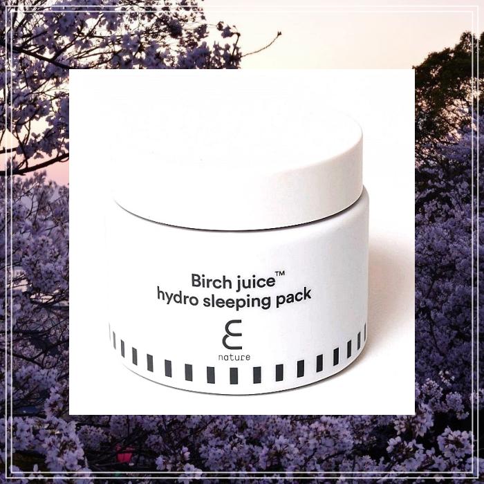 Birch Juice Hydro Sleeping Pack