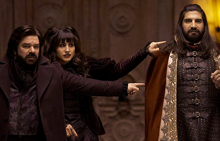 escena de What We Do In The Shadows