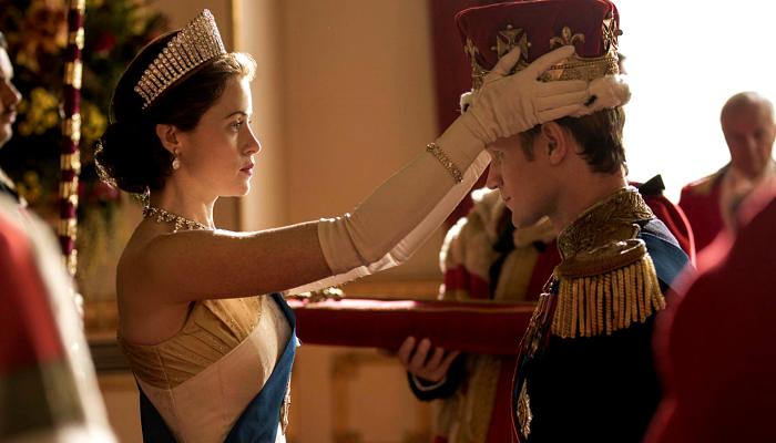 escena de The Crown