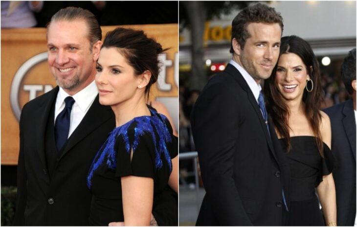 Sandra Bullock y Jesse James; 10 Famosos que terminaron su relación a causa de una película