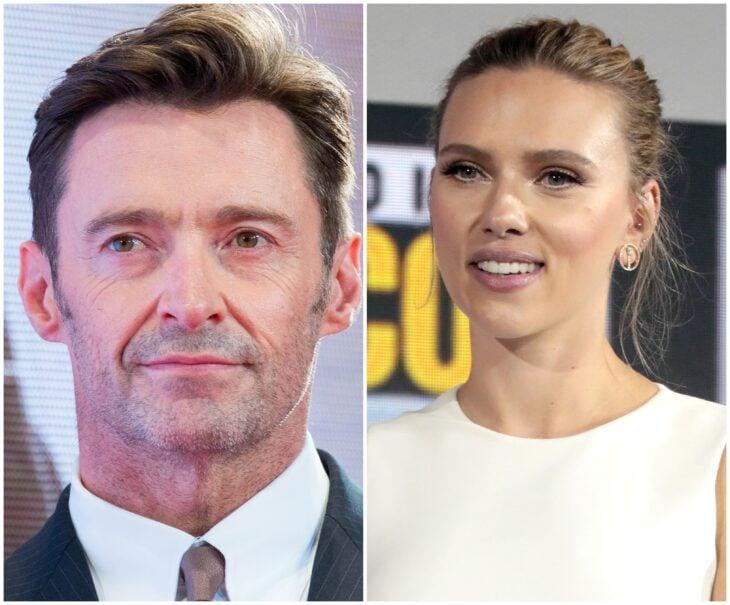 Hugh Jackman y Scarlett Johansson; 13 Famosos que han sido pareja en más de una película
