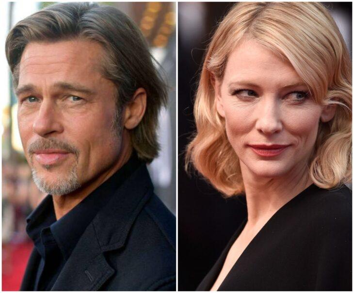 Brad Pitt y Cate Blanchett; 13 Famosos que han sido pareja en más de una película