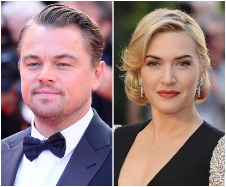 Leonardo DiCaprio y Kate Winslet; 13 Famosos que han sido pareja en más de una película