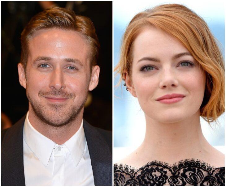 Ryan Gosling y Emma Stone; 13 Famosos que han sido pareja en más de una película