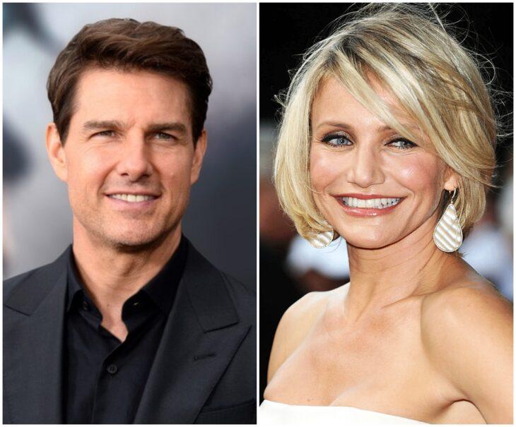 Tom Cruise y Cameron Diaz; 13 Famosos que han sido pareja en más de una película