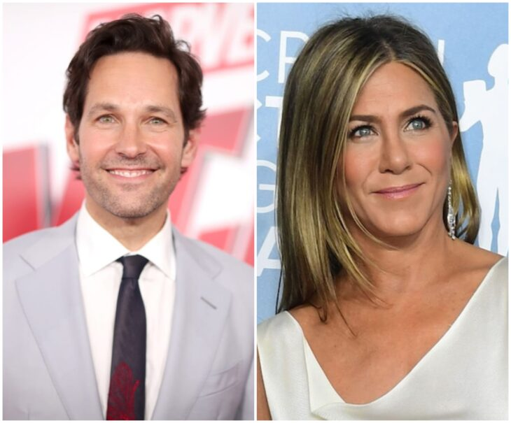 Paul Rudd y Jennifer Aniston; 13 Famosos que han sido pareja en más de una película