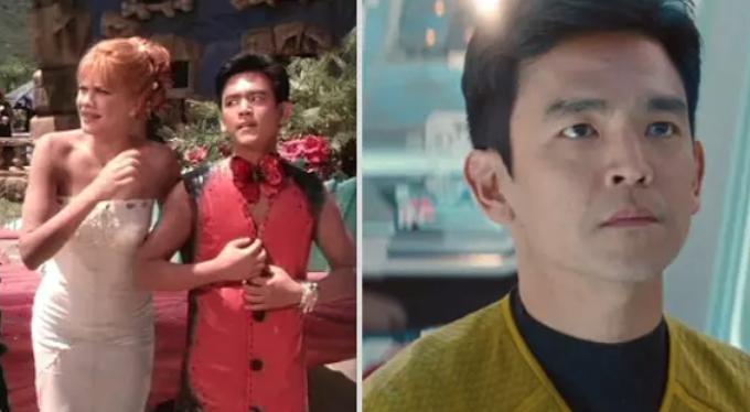 John Cho en Los Picapiedra en Viva Rock Vegas; 15 Famosos que aparecieron en series y películas y nadie recuerda