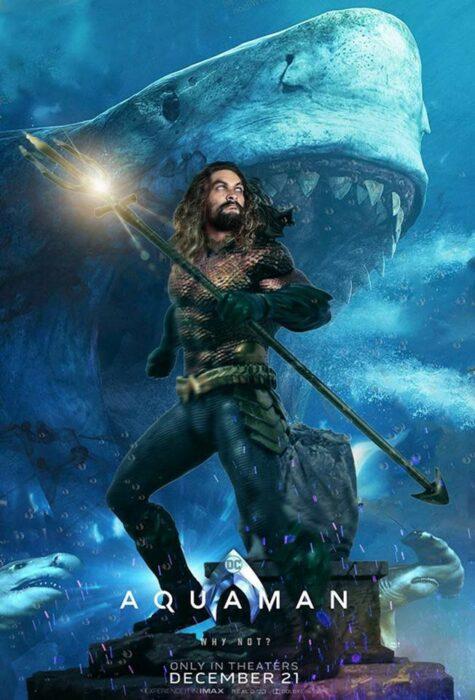 Poster de la película 'Aquaman'