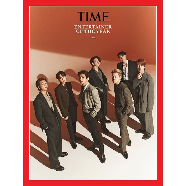 BTS en portada de revista TIME