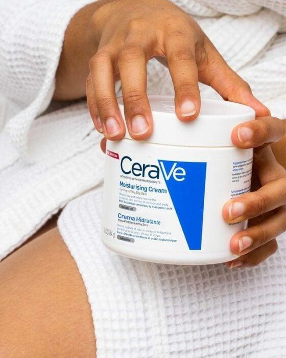 Crema Hidratante para pieles secas de CeraVe