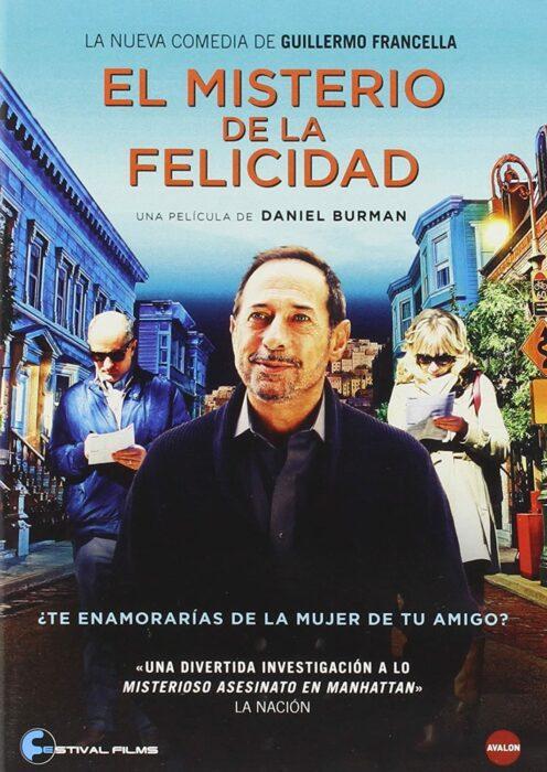 Poster de la película 'El misterio de la felicidad'