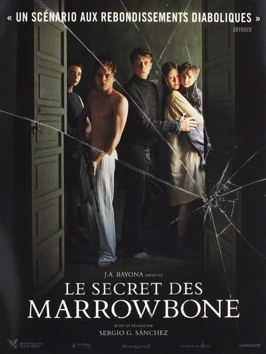 Poster de 'El secreto de Marrowbone'