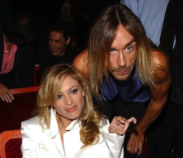 Iggy Pop con Paulina Rubio