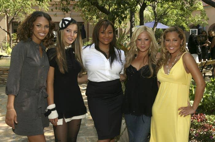 Belinda con las Cheetah Girls