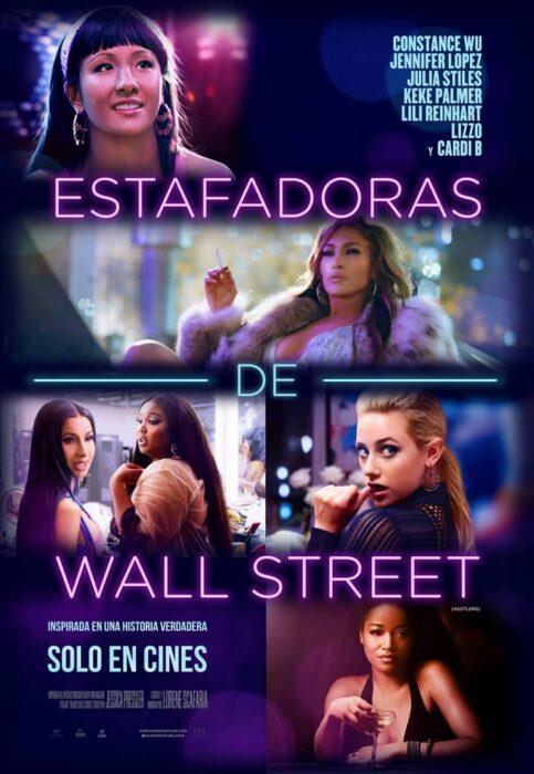 Poster de la película 'Estafadoras de Wall Street'