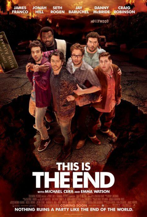 Poster de la película 'Este es el fin'