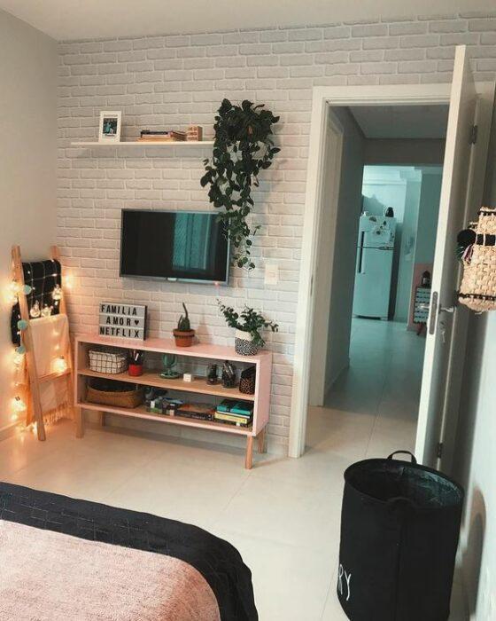 Habitación con TV