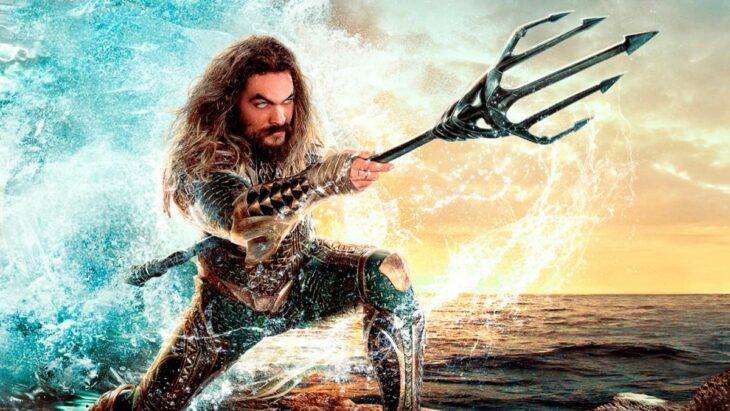 Jason Momoa en su papel como Aquaman; Jason Momoa sorprende a pequeño fan de 'Aquaman' con regalos
