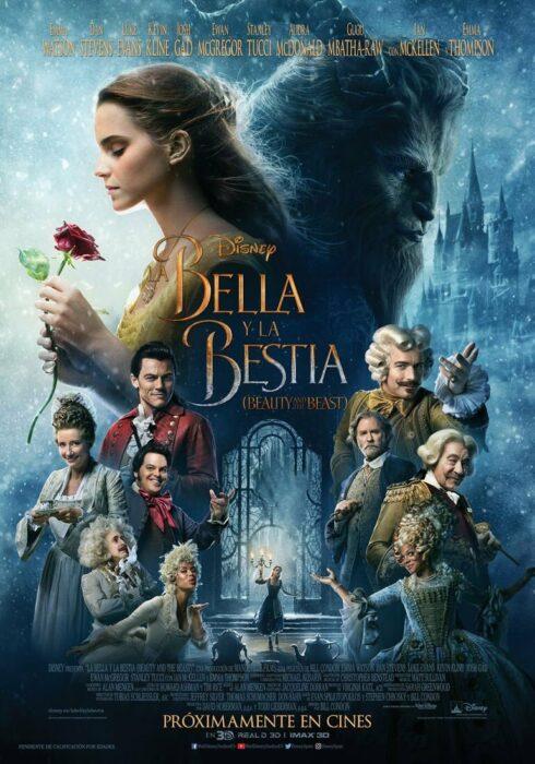 Poster de la película 'La Bella y la Bestia'