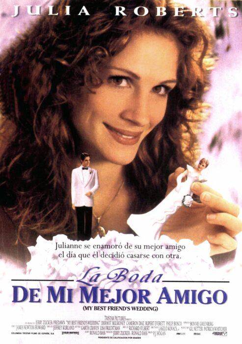 Poster de la película 'La boda de mi mejor amigo'