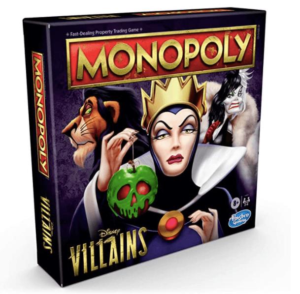 Monopoly versión villanos; Lanzan Monopoly con todos los villanos Disney y es el regalo perfecto para Navidad