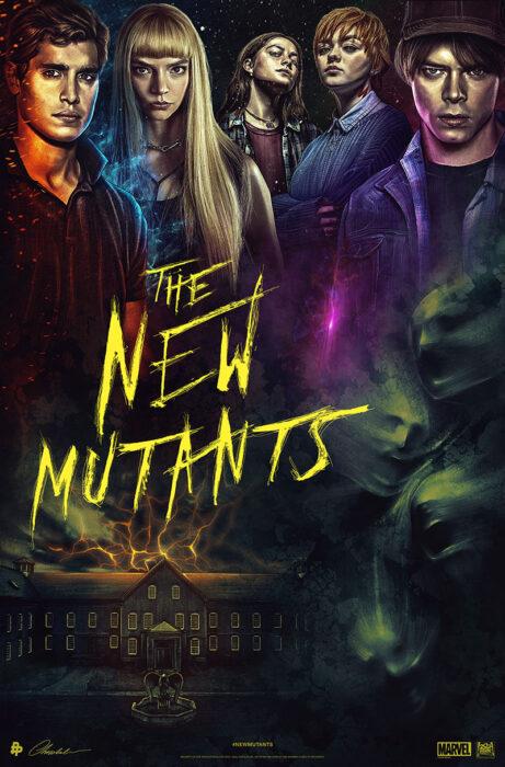 Poster de 'Los nuevos mutantes'