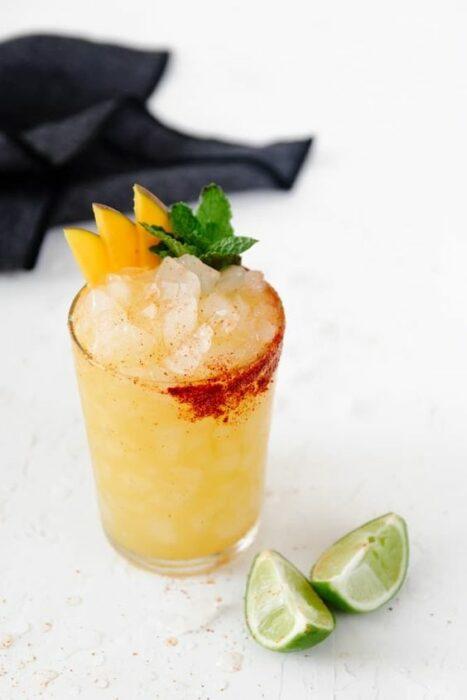 Margarita de mango con mezcal