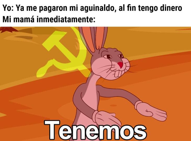 Los memes virales del 2020; Bugs Bunny Comunista, tenemos