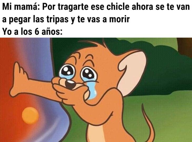 Los memes virales del 2020; Tom y Jerry llorando