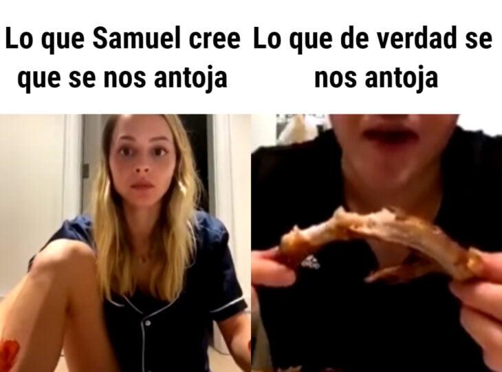 Los memes virales del 2020; Samuel García y Mariana Rodríguez, estás enseñando mucha pierna