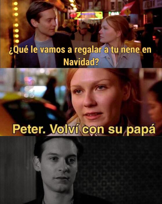 Los memes virales del 2020; Peter, me voy a casar, Spider-Man y Mary Jane
