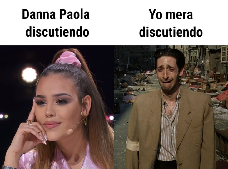 Los memes virales del 2020; pelea de Danna Paola y Gibrán Gutiérrez en La Academia