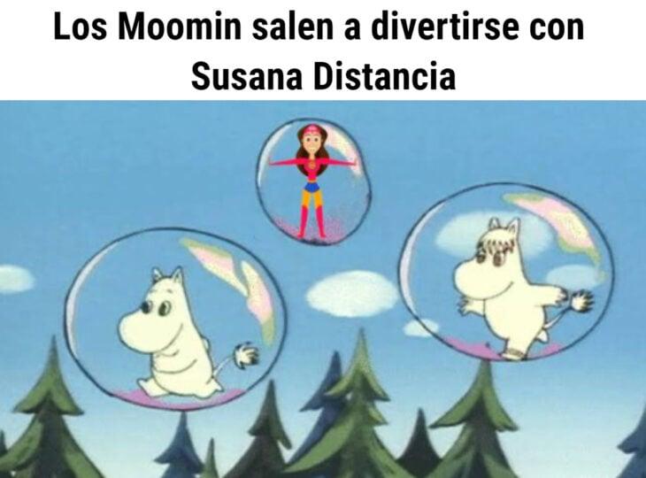Los memes virales del 2020; Susana Distancia y Moomin