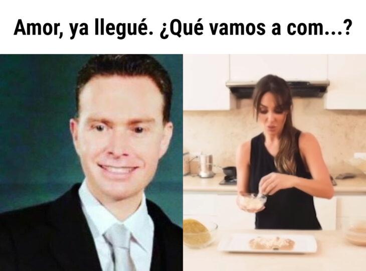 Los memes virales del 2020; las enfrijoladas de Anahí Puente y Manuel Velasco Coello