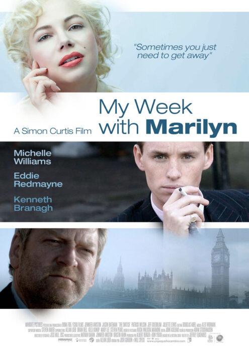 Poster de la película 'Mi semana con Marilyn'