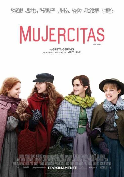 Poster de la película 'Mujercitas'